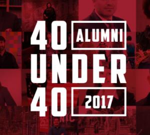 Arcadia 40 Under 40
