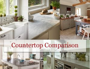 Countertop Comparison by RCI - image of countertops